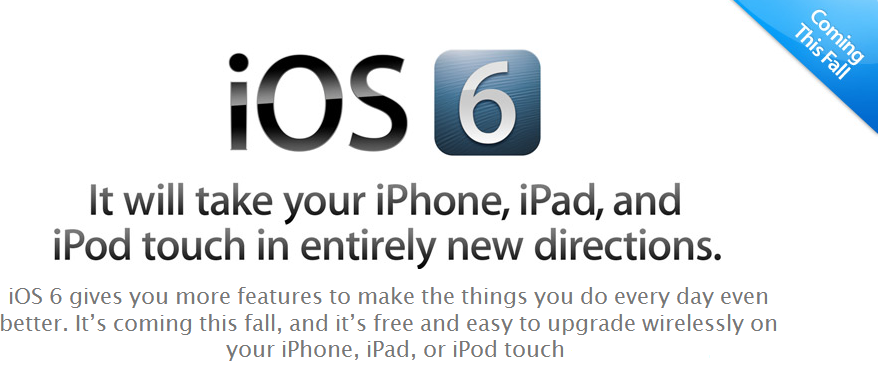 iOS 6: All you NEED to know (1/6)